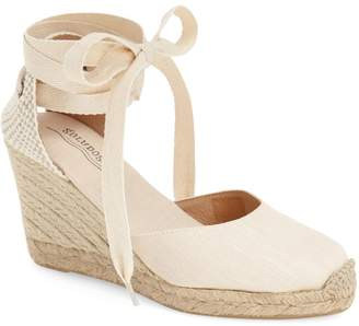 2f636b02962f at Nordstrom · Soludos Wedge Lace-Up Espadrille Sandal