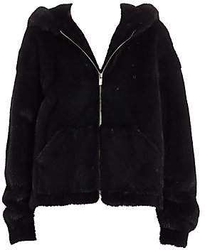 Zandra Rhodes The Fur Salon Women's For The Fur Salon Mink Hooded Jacket