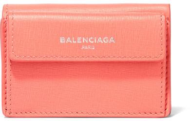 Balenciaga Balenciaga - Textured-leather Wallet - Pink