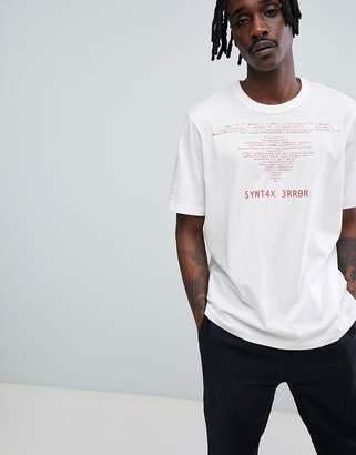 Cheap Monday Programme Error T-Shirt