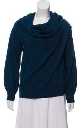 Dries Van Noten Wool Wrap Cardigan