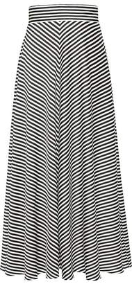 Banana Republic Petite Stripe Maxi Skirt