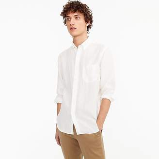 J.Crew Slim Irish linen shirt in solid