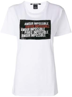 Pinko Amour Impossible T-shirt
