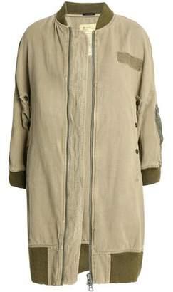 R 13 Cotton And Hemp-Blend Jacket