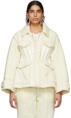 Undercover Off-White Cinched Waist Jacket