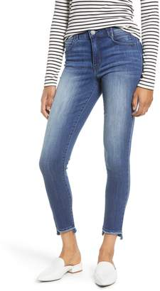 Wit & Wisdom Ab-solution Fray Step Hem Skinny Jeans