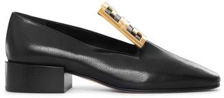Givenchy 4G gold tone buckle loafers
