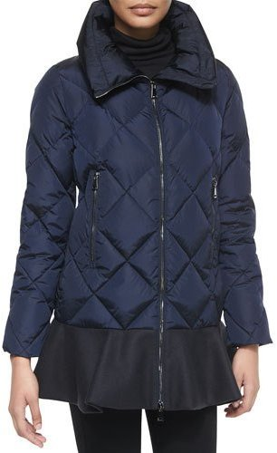 winter-coat-guide-navy-puffer-flounce-hem-moncler