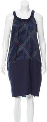 Hache Printed Knee-Length Dress