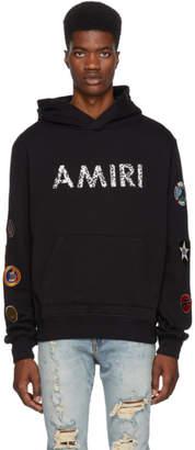 Amiri Black Patch Hoodie