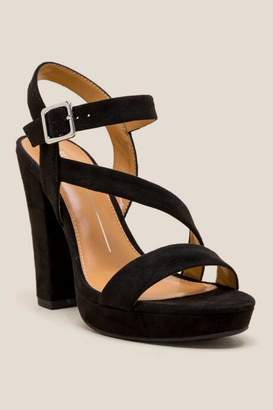 Report Ligon Platform Heel - Black