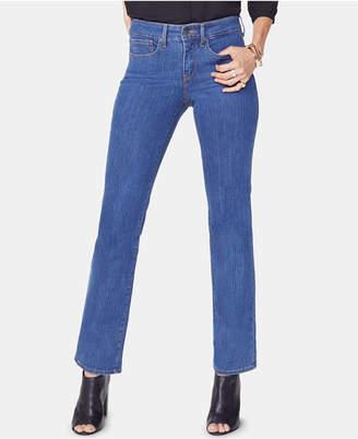 NYDJ Marilyn High-Rise Straight-Leg Jeans