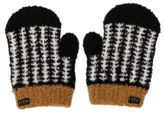 Fith Boys' Patterned Knit Mittens