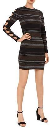 Ted Baker Simona Striped Bow-Detail Dress