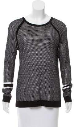 Rag & Bone Long Sleeve Scoop Neck Sweater
