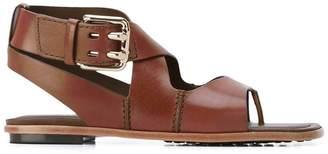 Tod's crisscross strap sandals