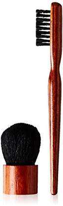 ON&OFF Wooden Baby Buki and Jumbo Brow Brush