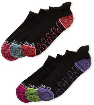 Reebok 6-Pack Breathable Low-Cut Socks