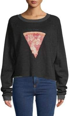 Wildfox Couture My Date Raglan-Sleeve Sweatshirt