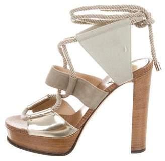 Jimmy Choo Platform High-Heel Sandals