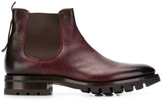 Santoni high ankle boots