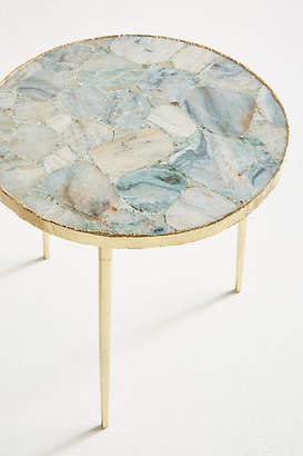 Anthropologie Agate Side Table