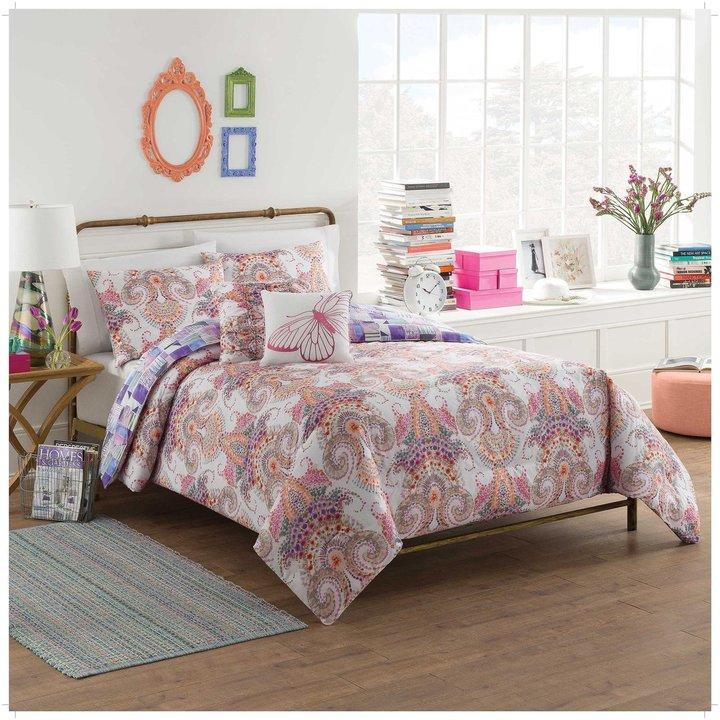 Blissliving HomeBlissliving Home Vue Aria Reversible Comforter Set - Twin XL - 4 pc