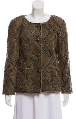 Chanel Paris-Edinburgh Quilted Lambskin Jacket