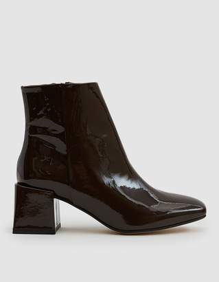LOQ Lazaro Patent Ankle Boot in Bombon