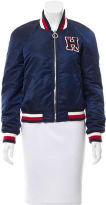 Tommy Hilfiger Varsity Bomber Jacket $195 thestylecure.com