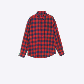 Balenciaga Vichy cotton shirt