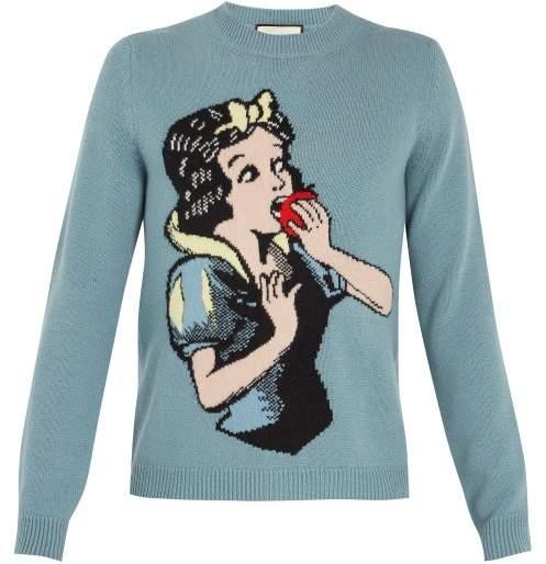 Snow White cotton sweater