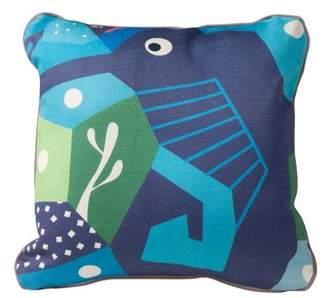 Nurseryworks Nursery Works Oceanography Cubist Print Toddler Pillow Case