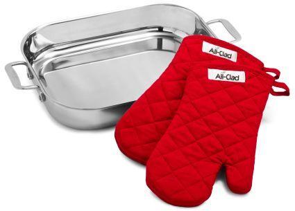 All-Clad Lasagna Pan and Mitt