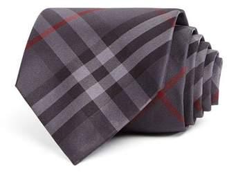 Burberry Clinton Basic-Check Silk Classic Tie