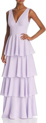 Nicole Miller New York Sleeveless Tiered Gown - 100% Exclusive