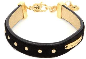 Juicy Couture Unknown Studded Black Velvet Bracelet