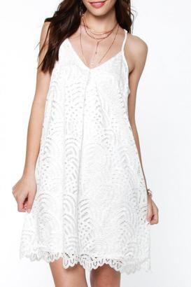 Everly Lace Shift Dress $52 thestylecure.com