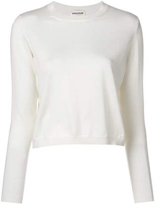 Semi-Couture Semicouture cropped sweater