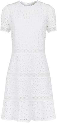 Michael Kors Cotton Eyelet Mini Dress