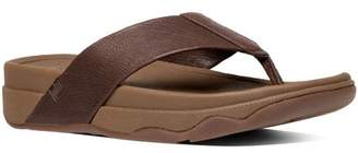 FitFlop Men's Surfer (Leather) Flip Flop