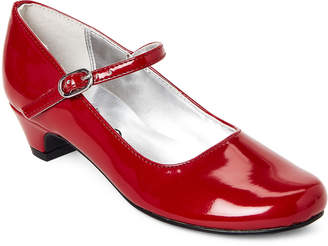 Nina Toddler Girls) Red Lil Seeley Mary Jane Shoes