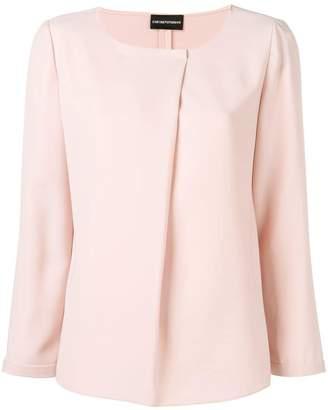 Emporio Armani long sleeved blouse