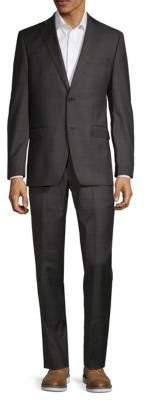 Lauren Ralph Lauren Plaid Slim-Fit Wool Suit