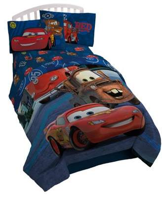 Cars Disney Hometown Reversible Twin Comforter
