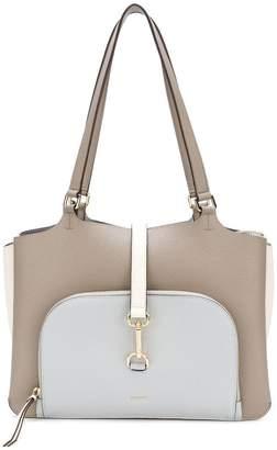 DKNY buckle tote bag