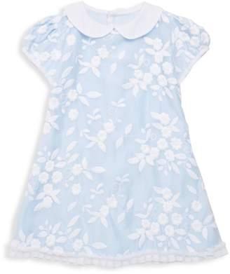 Isabel Garreton Little Girl's Embroidered Floral Organza Dress