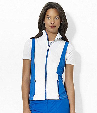 Lauren Ralph Lauren Colorblock Vest