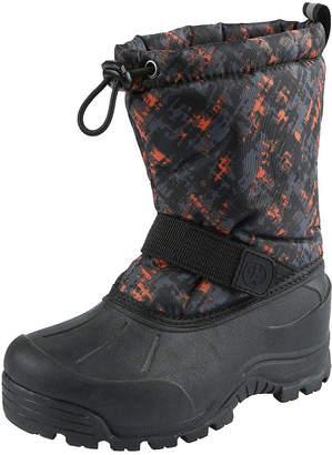 Northside Boys Frosty Snow Boots Fleece Lined Insulated Hook and Loop